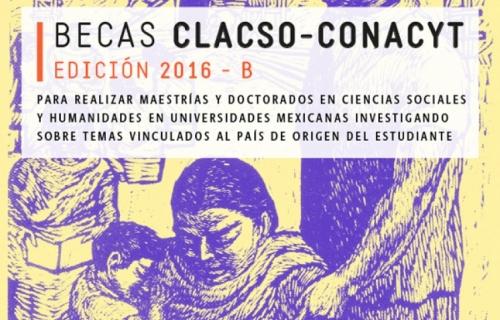 Becas CLACSO-CONACYT, Edición 2016 – B